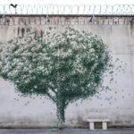 """Pejac – Gold Mine, street art nella prigione """"El Dueso"""""""