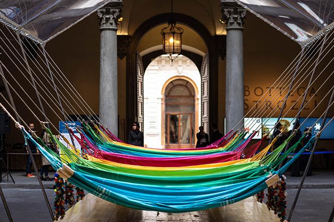 Opavivará! - REDE SOCIAL (Social Network/rete e sociale), Firenze, Cortile Palazzo Strozzi, 2019. photo credit: Alessandro Moggi.