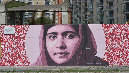 Progetto Pangea a Scampia - Street art educativa