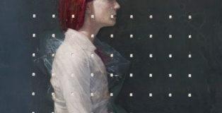 Andrea Mariconti - Kanon 1, cm 80x80, tecnica mista su tela
