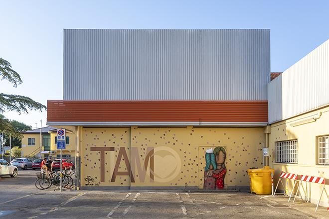 BOOGIE.EAD e TONY GALLO: Padova - Alì Supermercati (Negozio via Grassi), opera su muro