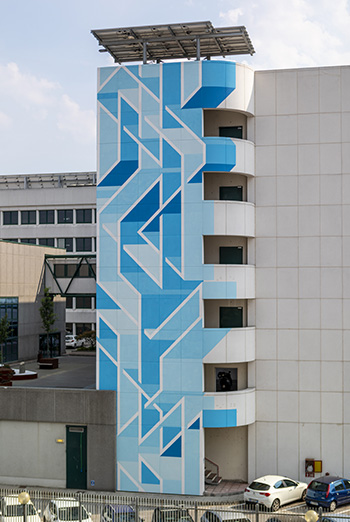 JOYS: Padova - InfoCamere, opera su muro
