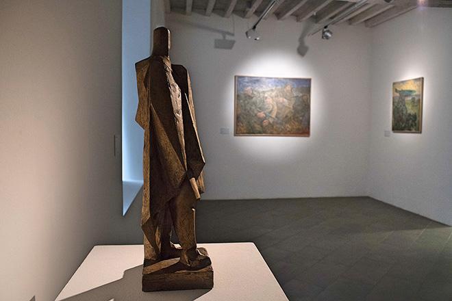LA FORMA DELL'IDEOLOGIA - Praga: 1948-1989, veduta della mostra