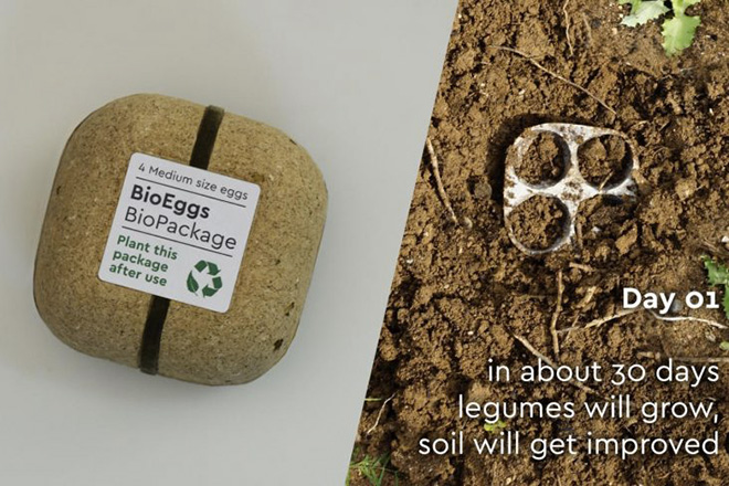 Biopack by George Bosnas - Quando il packaging è 100% sostenibile