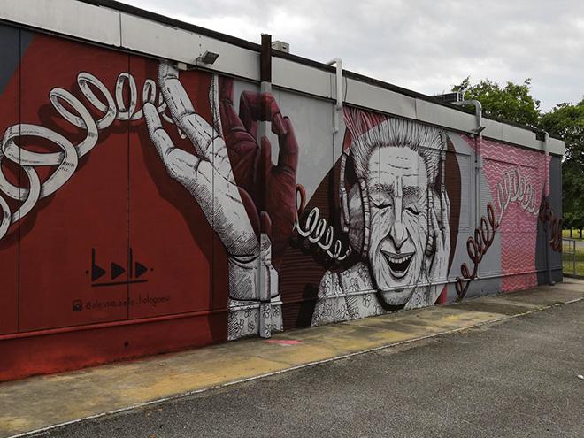 Alessio Bolognesi e VIDA KREI  – Murales a Ferrara