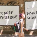 """CHEAP + Santarcangelo Festival + MACAO – La Street Poster Art """"Slow & Gentle"""""""