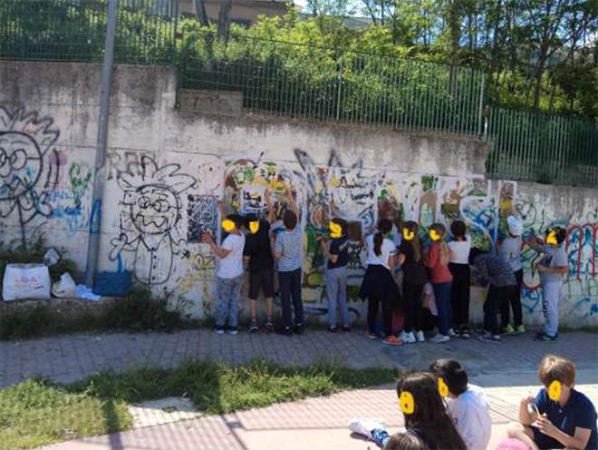 OLTRE IL MURO - I bambini e la street art, (Pensiamoci), Castelnuovo di Porto
