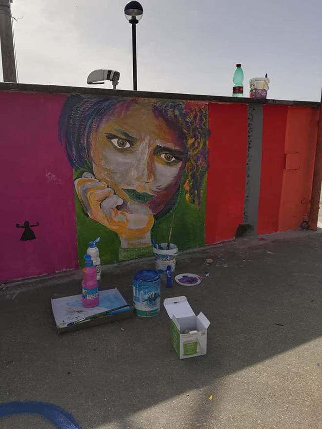 OLTRE IL MURO - I bambini e la street art, Volto, Castelnuovo di Porto