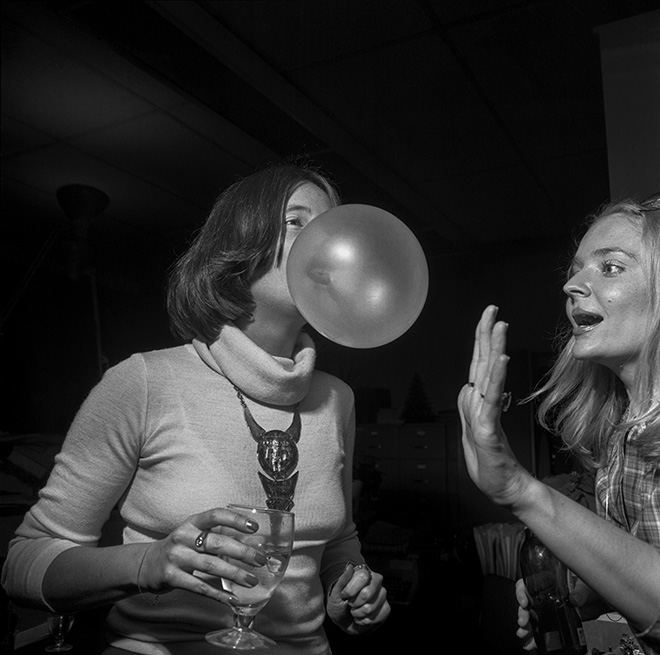 ©Larry Fink - New York Magazine Party, October 1977