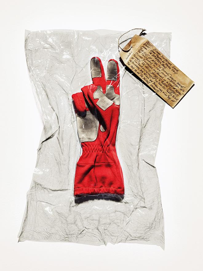 Marco Craig  - Witness, Schumacher Glove, 2001