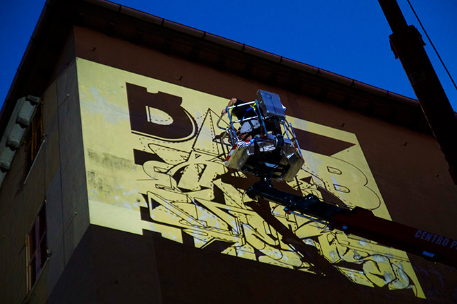 Blef - ON THE WALL PROJECT, Genova Certosa, 2019. photo credit: Ila Molinelli