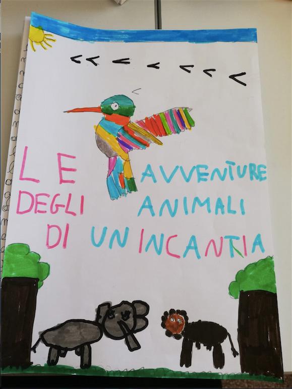 Progetto Assafà - (Le avventure degli animali di Incantia), copertina storia