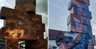 North West Walls 2019 - Container Graffiti