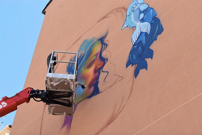 Caktus&Maria - ON THE WALL project - Riqualificazione urbana a Genova Certosa
