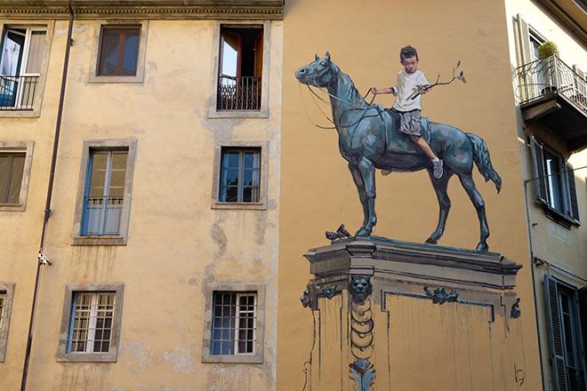 Ernest Zacharevic - Murale a Torino