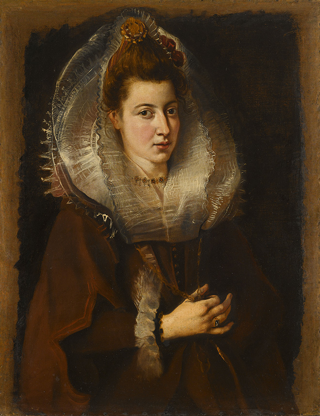 Peter Paul Rubens, Portrait of a Young Woman, Private collection © Private collection