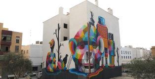 Okuda San Miguel - Multiverse, Ibiza, Bloop Festival