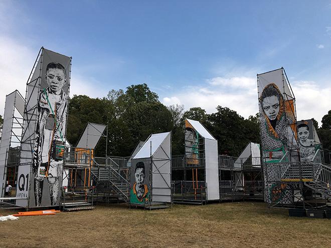 ACHE77 - Ritratti dall'infanzia negata, COPULA MUNDI FESTIVAL 2019, Parco delle Cascine, Firenze