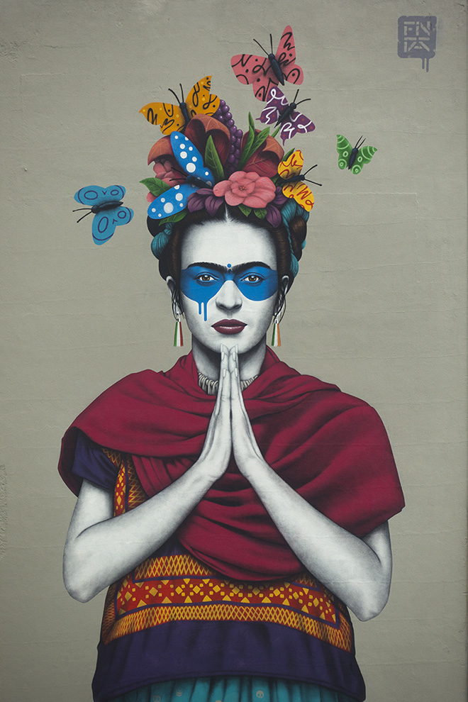 Fin DAC - Magdalena (Frida Kalho), Chapultepec Avenue, Guadalajara (Mexico)