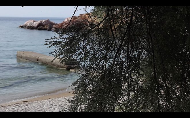 Liam Gillick - Heckle, 2014. 09:10 min, HD video H.264, edizione di 3 + 2 APs. Courtesy l'artista; Eva Presenhuber, Zurigo