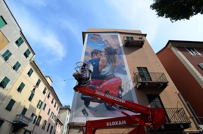 Antonello Macs - ON THE WALL project, Genova Certosa. photo credit: Matteo Fontana