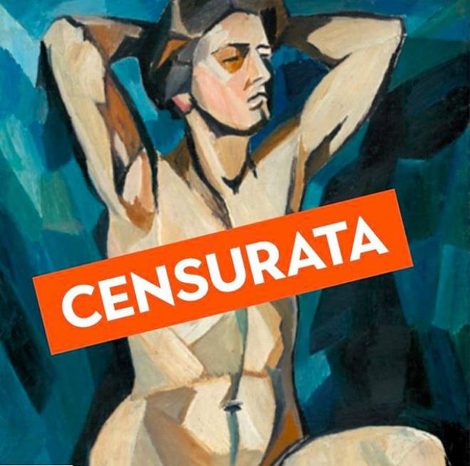 I social e il nudo artistico: Natalia Goncharova censurata