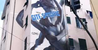 OZMO, murale a Genova Certosa - On The Wall Project. photo credit: Matteo Fontana