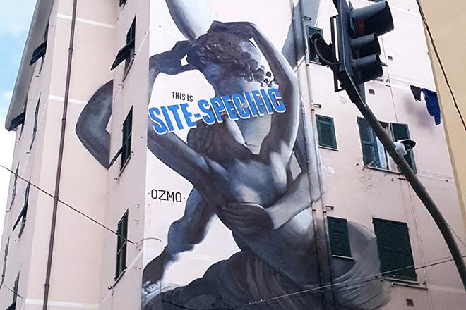 L'abbraccio di OZMO per Certosa – On The Wall Project