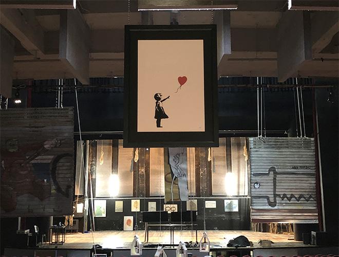 Street Art in Blu – Teatro Colosseo (Torino)