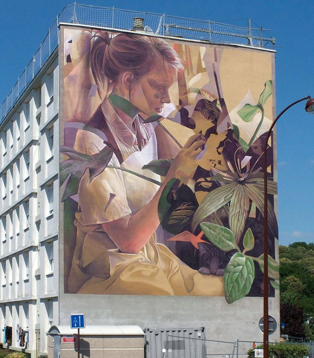 Telmo Miel - Martine in the forest, Versailles (Bernard de Jussieu neighborhood), 2019