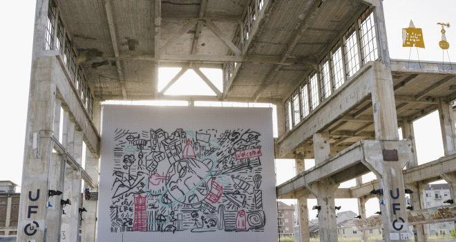 UFO (Urban Flying Opera) – Droni e Graffiti