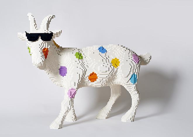 Riccardo Zangelmi - Goat different, 2018