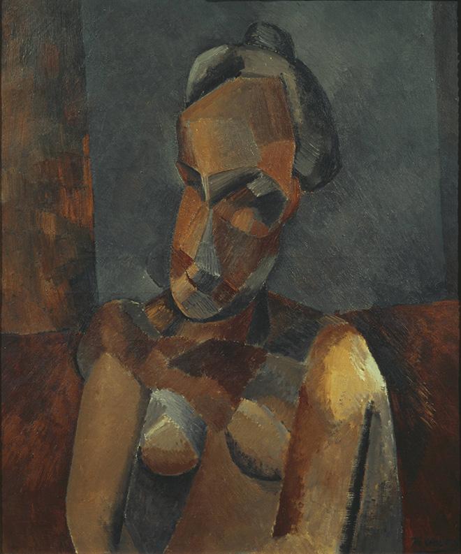 Pablo Picasso (Malaga 1881-Mougins 1973) Busto di donna 1909, olio su tela, cm 72,7 x 60. Londra, Tate, N05915. © Tate, London 2019. © Succession Picasso, by SIAE 2019