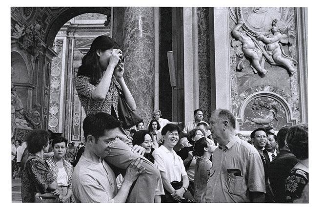San Pietro, Roma, 1998 © Gianni Berengo Gardin/Courtesy Fondazione Forma per la Fotografia Milano