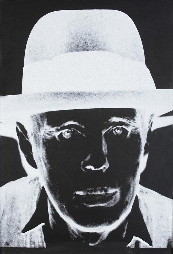 Andy Warhol: Joseph Beuys, serigrafia, 103,8 x 76,5 cm.