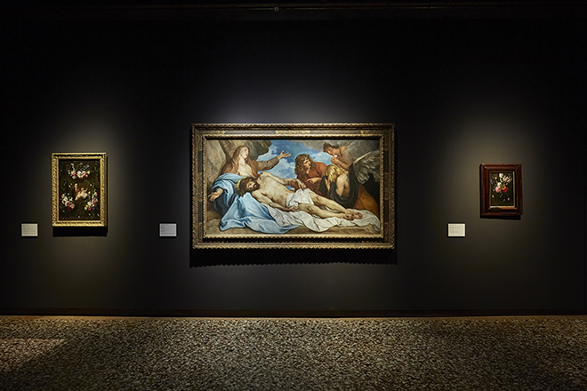 Da Tiziano a Rubens. Capolavori da Anversa e da altre collezioni fiamminghe. Exhibition view, Palazzo Ducale, Appartamento del Doge, Venezia
