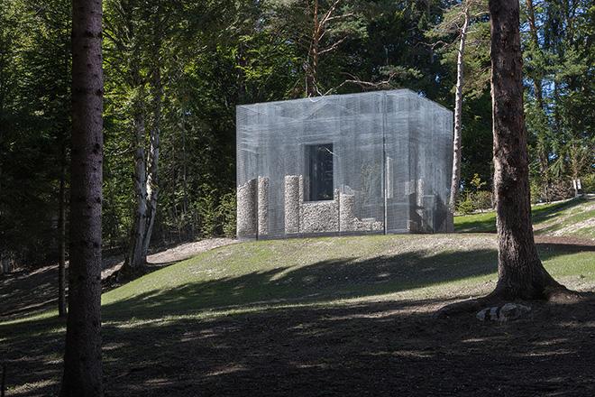 Edoardo Tresoldi - Simbiosi (parco Arte Sella in Trentino). photo credit: © Roberto Conte