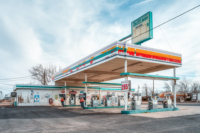 Swee Choo Oh - Old Gas Station Arizona