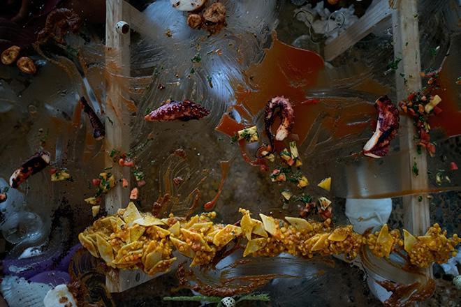 Jeschkelanger - Empty glass, School for Curatorial Studies Venice, Ca Sagredo Hotel. Credits: Kristi Giambattista