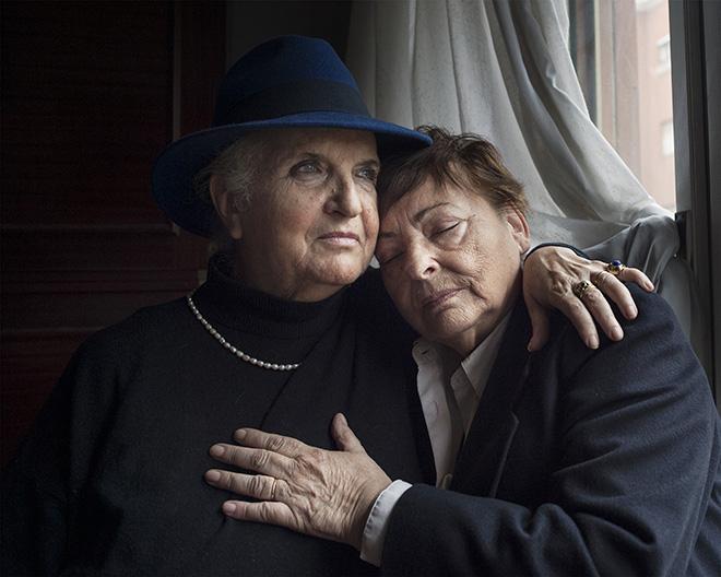 Melissa Ianniello - Maria Laura Annibali, 74 anni, e Lidia Merlo, 72 anni, Roma. Wish it was a coming out. SI FEST - SEDUZIONI Fascinazione e mistero.