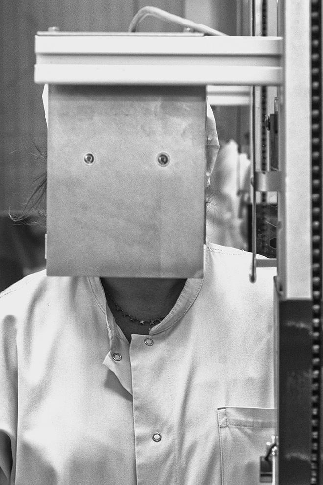 © Fotografia di Alessandro Placucci. Francesco Neri - Intorno alla fotografia., Ritratto in fabbrica. SI FEST - SEDUZIONI Fascinazione e mistero.