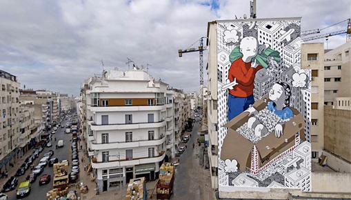 Millo - Handle with care, Casablanca (Marocco)