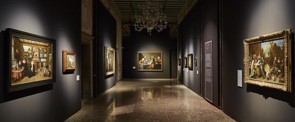 SDa Tiziano a Rubens. Capolavori da Anversa e da altre collezioni fiamminghe, exhibition view, Palazzo Ducale - Appartamento del Doge, Venezia