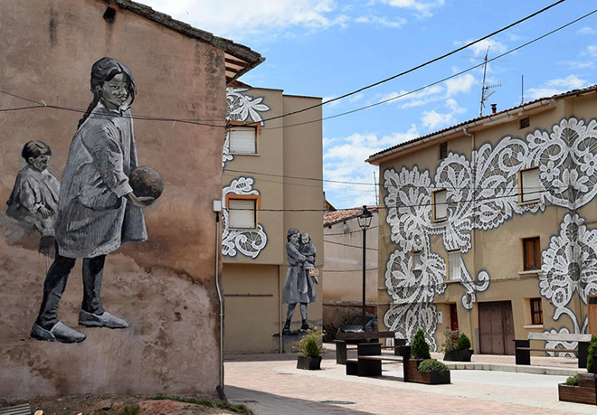 Wall-King Belorado – L'arte urbana incontra la tradizione