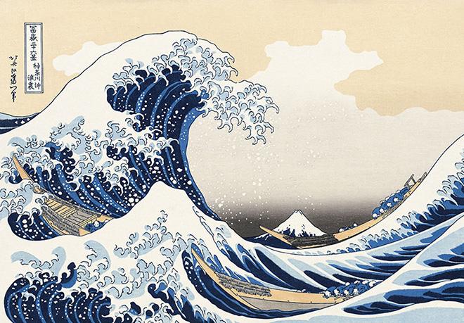 HOKUSAI, HIROSHIGE, UTAMARO – Capolavori dell'arte giapponese