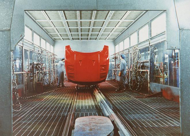LUIGI GHIRRI - Palazzo Bentivoglio, Ferrari, Maranello,1985-88, © Eredi di Luigi Ghirri