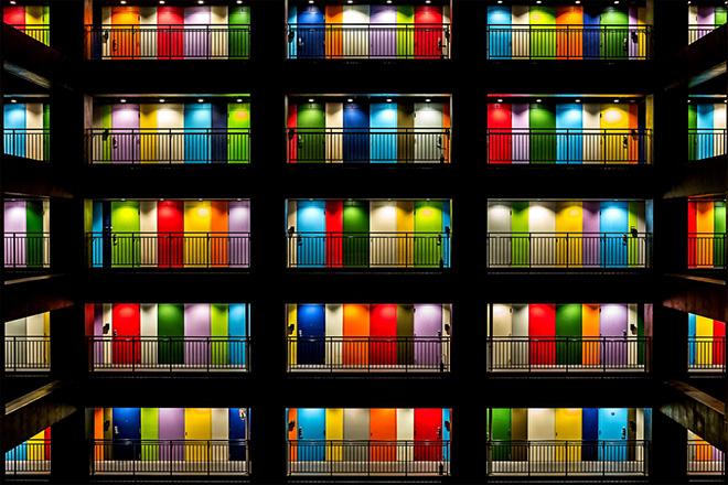 Elizabeth Jenny Taner - Multicolor, Tokjo (Japan), Architecture and Urban spaces, Siena International Photo Awards 2019