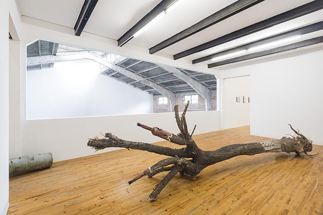 KADER ATTIA - Artificial nature, 2014, albero mutilato, protesi (mutilated tree, prosthesis). Courtesy: the artist and GALLERIA CONTINUA, San Gimignano / Beijing / Les Moulins / Habana. Photo by: Oak Taylor-Smith