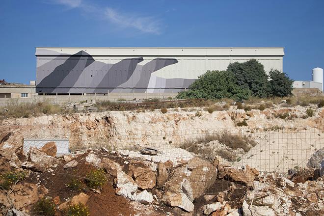 Ciredz - Calcare tenero, FestiWall 2019 – Ragusa, Industrial zone