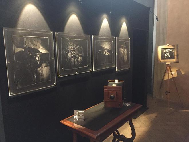 Danilo Mauro Malatesta - OMBRE DI LUCE, exhibition view